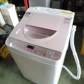 【ネット決済】B324 シャープ 全自動洗濯機 乾燥機能付き 5...