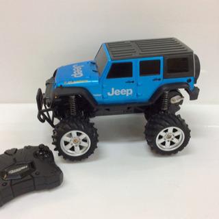 【ラジコン】jeep/ジープ 青色 コレクターにも!
