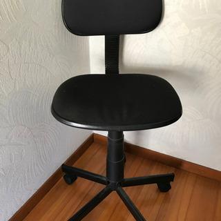 デスクチェア 事務椅子 黒 肘かけ付 オフィス
