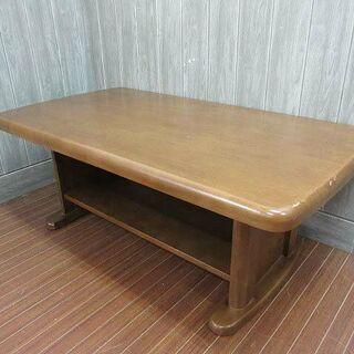 ss1017 木製 センターテーブル ブラウン マガジンラ…