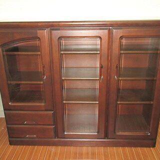 stp-0164 リビングボード 扉3枚 引出2杯 飾り棚…