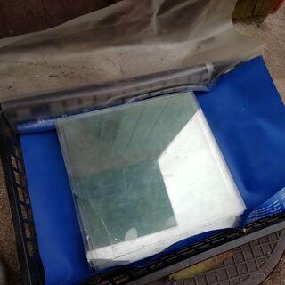 ガラス 透明 レトロ