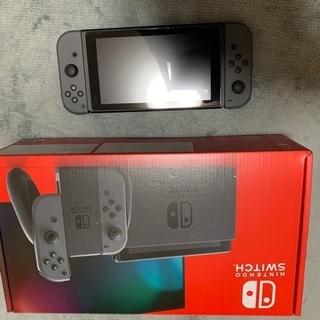 Nintendo Switch グレー【新品同様】
