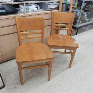 木製 ダイニングチェア 北欧風 天然木 ナチュラル 椅子 ペイペイ対応 札幌市西区西野 - 売ります・あげます