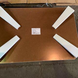 DCM キズ・汚れがつきにくいテーブル DCM-FVK9060 WH 格安 - 売ります・あげます