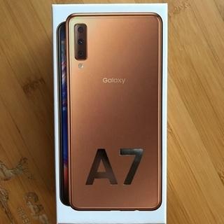 Galaxy A7 ゴールド 64 GB SIMフリー 未使用 ...