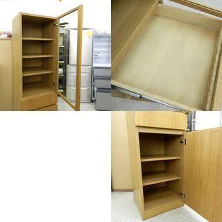 無印良品 スリム カップボード 食器棚 MUJI 良品計画 札幌市 北区 屯田 - 札幌市
