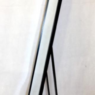 used 自立式ミラー:黒