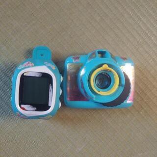 女の子カメラと時計