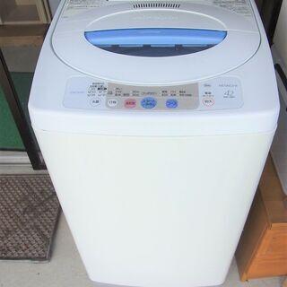 全自動洗濯機 日立 NW-42FF 2006年