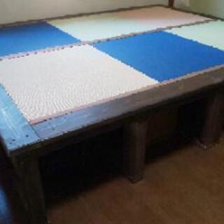 畳ベッド ご希望サイズにお作りします。