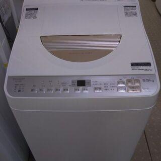 シャープ タテ型洗濯乾燥機 ES-TX5B-N 2018年製