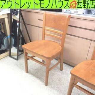 木製 ダイニングチェア 北欧風 天然木 ナチュラル 椅子 …
