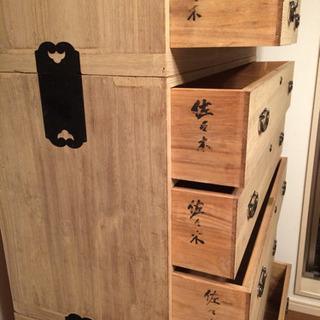 桐タンス - 家具