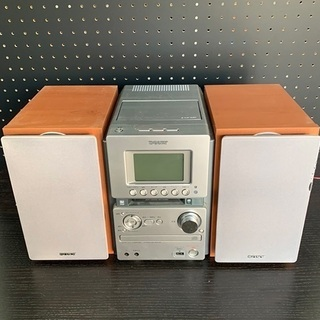 SONYソニー CD MD コンポ