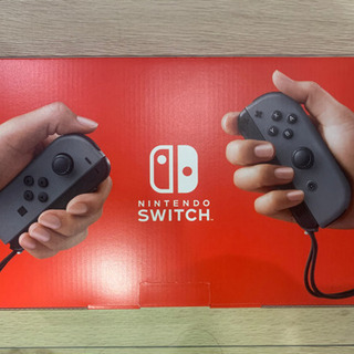 Nintendo Switch 本体 グレー 未使用新品