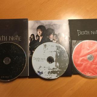 DVD デスノート コンプリートセット 4枚(DVD3枚,CD1枚)