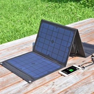 ソーラーパネル+155Wポータブル電源【新品・未使用品】