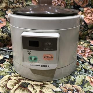 玄米の電気発芽器