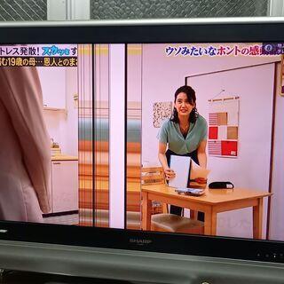 シャープのテレビです。