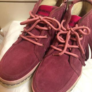 靴(ビンク)