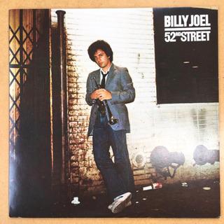 Billy Joel - 52nd Street LP レコードの画像