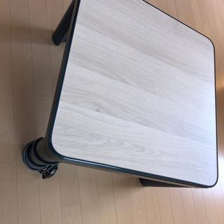 コタツ テーブル 白黒