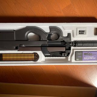 東京マルイ18歳以上用電動エアガン p90サイレンサー