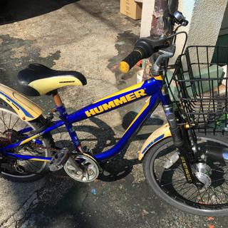 ★20インチ 男児自転車 LEDオートライト 6速シフト