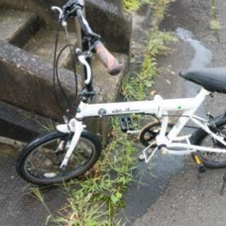 折りたたみ自転車ギヤ付き