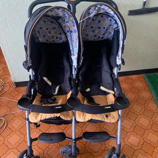 双子用ベビーカー