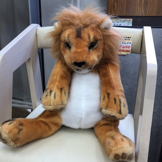 ライオンさんのリュックサック☆ぬいぐるみを背負ってるみたいで可愛い♪