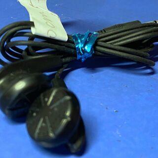 有線 ステレオイヤホン φ3.5mm コード長:1.2m 中古 ...