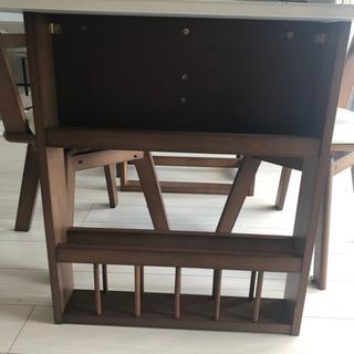 決定!テーブル 昨年11月購入 定価34000円 - 家具