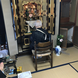 【無料!魂抜き済】仏壇と神棚 とてもきれいです 浄土真宗180x80x80 工夫して運び出せる方! - その他