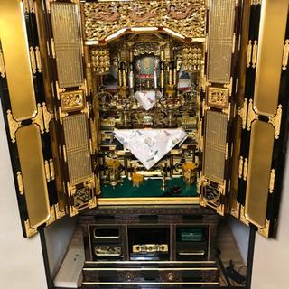 【無料!魂抜き済】仏壇と神棚 とてもきれいです 浄土真宗180x...