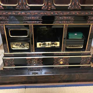 【無料!魂抜き済】仏壇と神棚 とてもきれいです 浄土真宗180x80x80 工夫して運び出せる方! - 売ります・あげます
