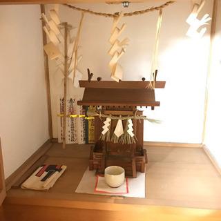 【無料!魂抜き済】仏壇と神棚 とてもきれいです 浄土真宗180x80x80 工夫して運び出せる方! - 西尾市