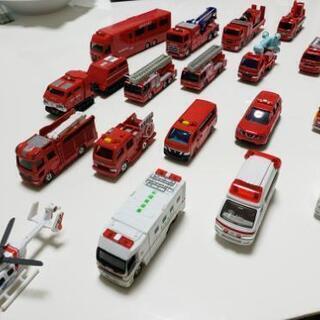 トミカ 消防車両18台