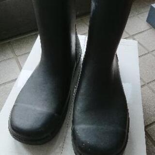 24.0㎝通学用長靴◆月星シューズ
