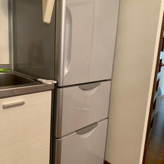 冷蔵庫 3ドア ドアについているのは取ってお渡しします!