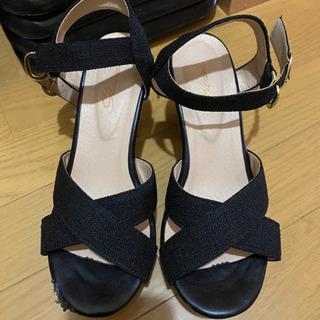 サンダル 靴 シューズ ブラック