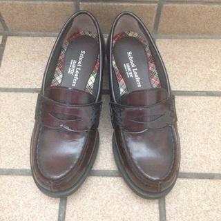 新品 ハルタ 子供 靴 ローファー 21