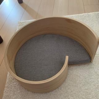 猫 ベッド 木製