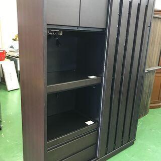 サンモア 和風 片スライド扉キッチンボード