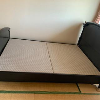 ダブルベッドー - 家具