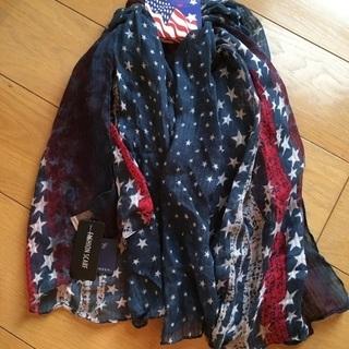 「新品」アメリカン スカーフ