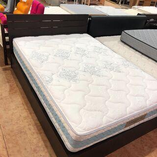 ダブルベッド フランスベッド×ニトリフレーム