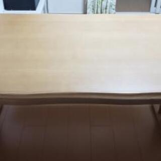 ニトリ テーブル+ベンチ(サザナミシリーズ)