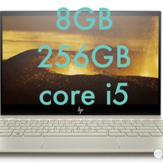 ほぼ未使用 hp 8G 256GB corei5
